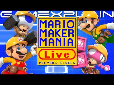Mario Maker Mania! We Play YOUR Super Mario Maker 2 Levels!