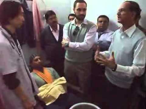 Vamana Karma done on Dr Santokh Singh by Dr. Acharya