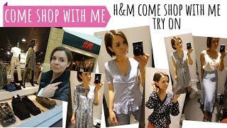 COME SHOP WITH ME // H&M SPRING / APRIL CLOTHES IN STORE & TRY ON / HAUL