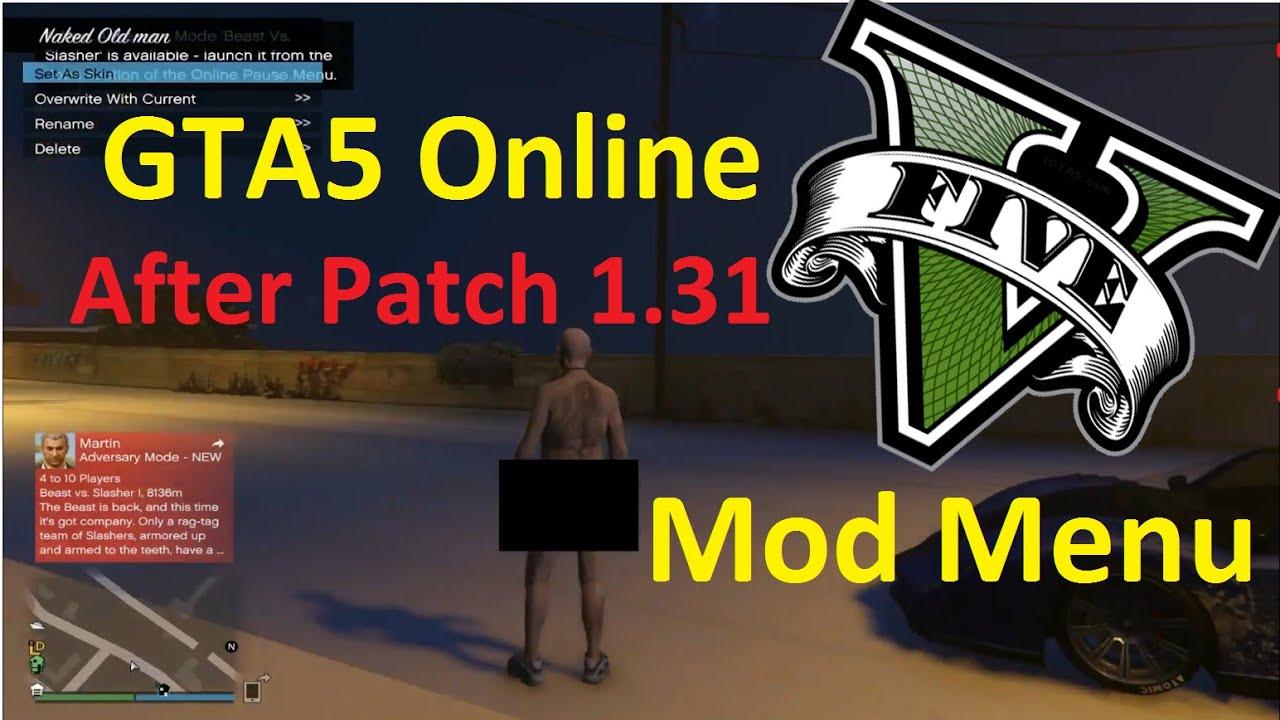 how to make a mod menu for gta 5 online