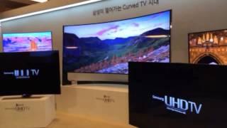 삼성전자 2014년 커브드 UHD TV 발표현장