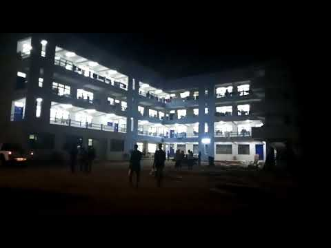 Night View of Accra College of Education new Lecture Hall