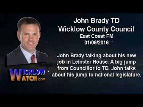 John Brady TD on his jump to national Legisture