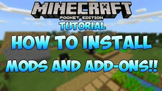 How To Install Mods and Add-ons for Minecraft PE 1.2 [Minecraft PE Tutorials!]