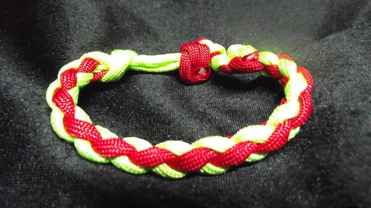 Exceptionnel Bracelet rond en paracorde Weavy Loops - YouTube MT71