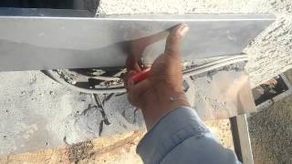 INSTALLING NEW FLASHING to a FIREPLACE...leak free and simple!
