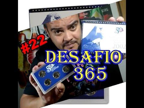 22 | 50 State Quarters  proof set 2002 Desafio 365 | 22-365