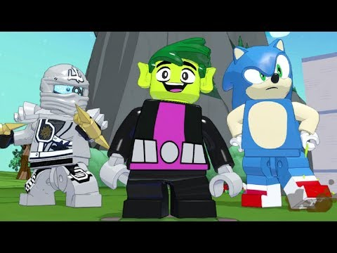 LEGO Dimensions - All Characters - Reactions to Collectibles (Waves 1-9)