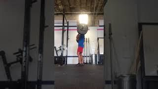 Andy front squat 235# thumbnail