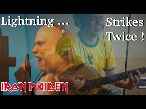 Lightning Strikes Twice (IRON MAIDEN) Acoustic - Thomas Zwijsen ft. Blaze Bayley Mp3