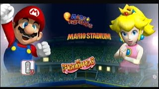 Mario Super Sluggers | Mario Fireballs Vs Peach Monarchs @ Mario Stadium