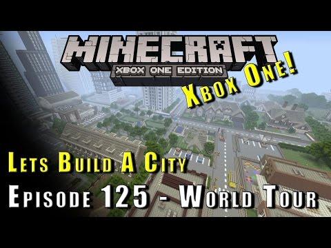 Minecraft :: Lets Build A City :: World Tour + Future Buildings :: E125