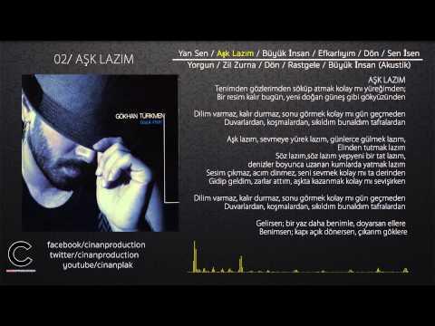 Aşk Lazım  - Gökhan Türkmen (Official Lyric Video)