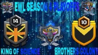 EWL SEASON 4 | IVORY DIVISION | PLAYOFFS | king of science vs brothers colony