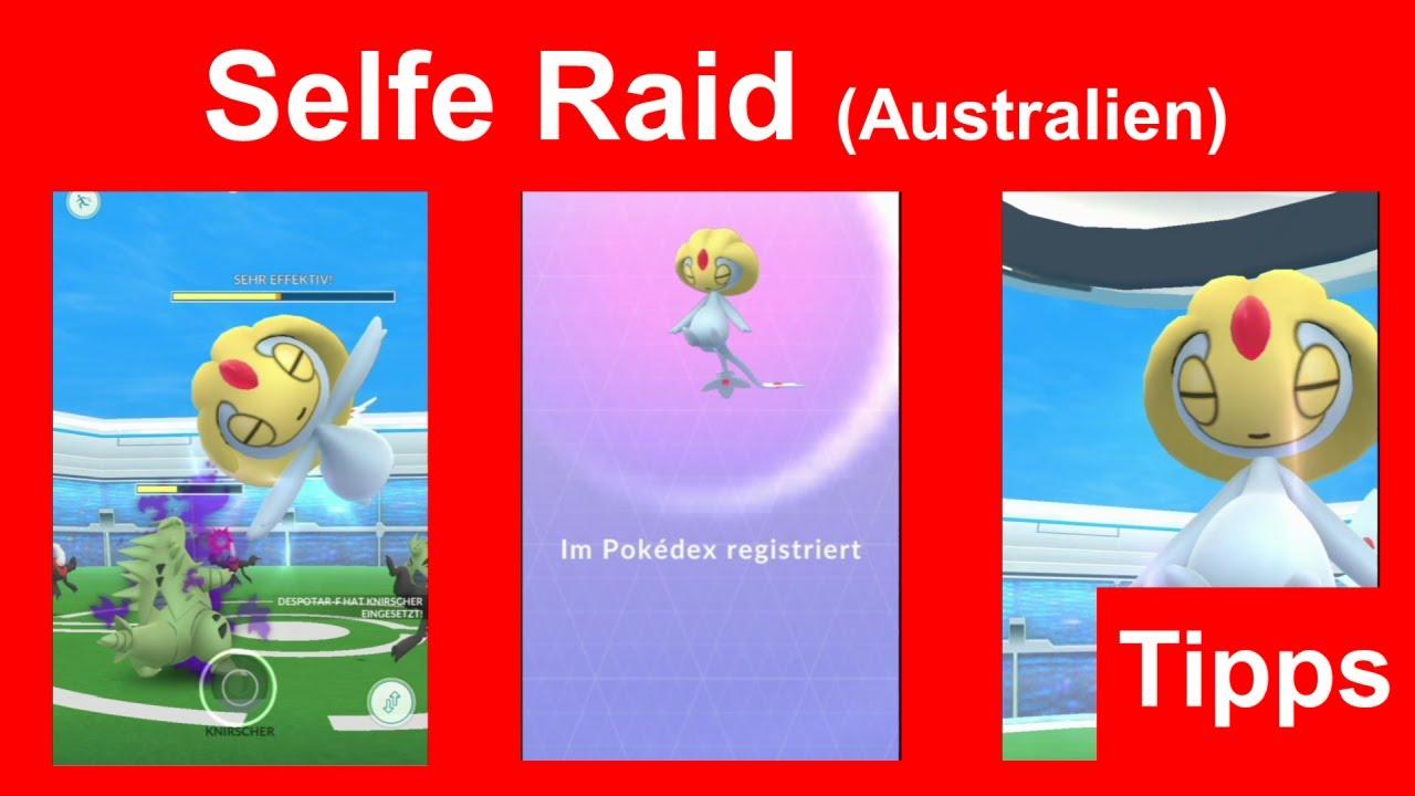 Selfe Raid. Schneller Raid im See Legende Event - Pokemon GO Deutsch 179
