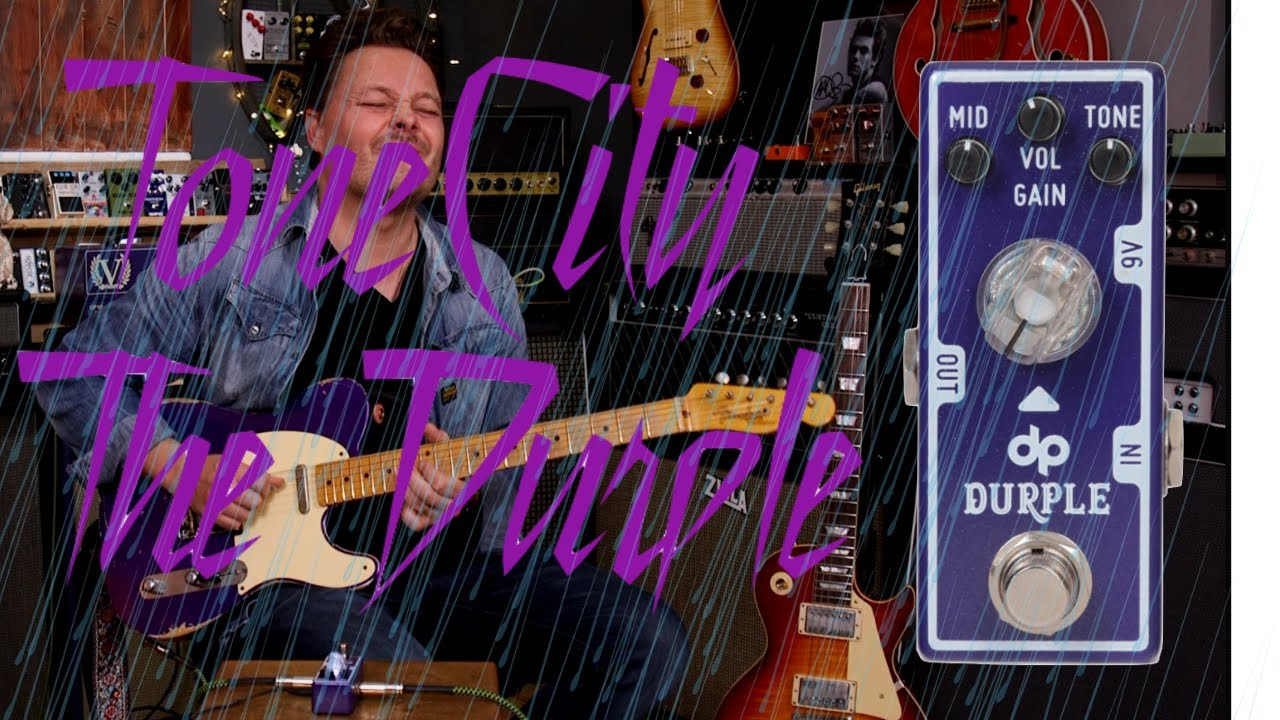 THE DURPLE  | Tone City | An Andertons Exclusive Pedal