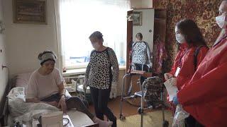 Прийти на помощь пожилым и нуждающимся Акция волонтёров БРСМ