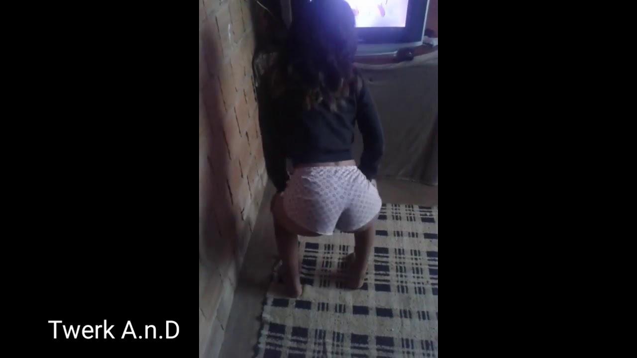 Little girl dances for you