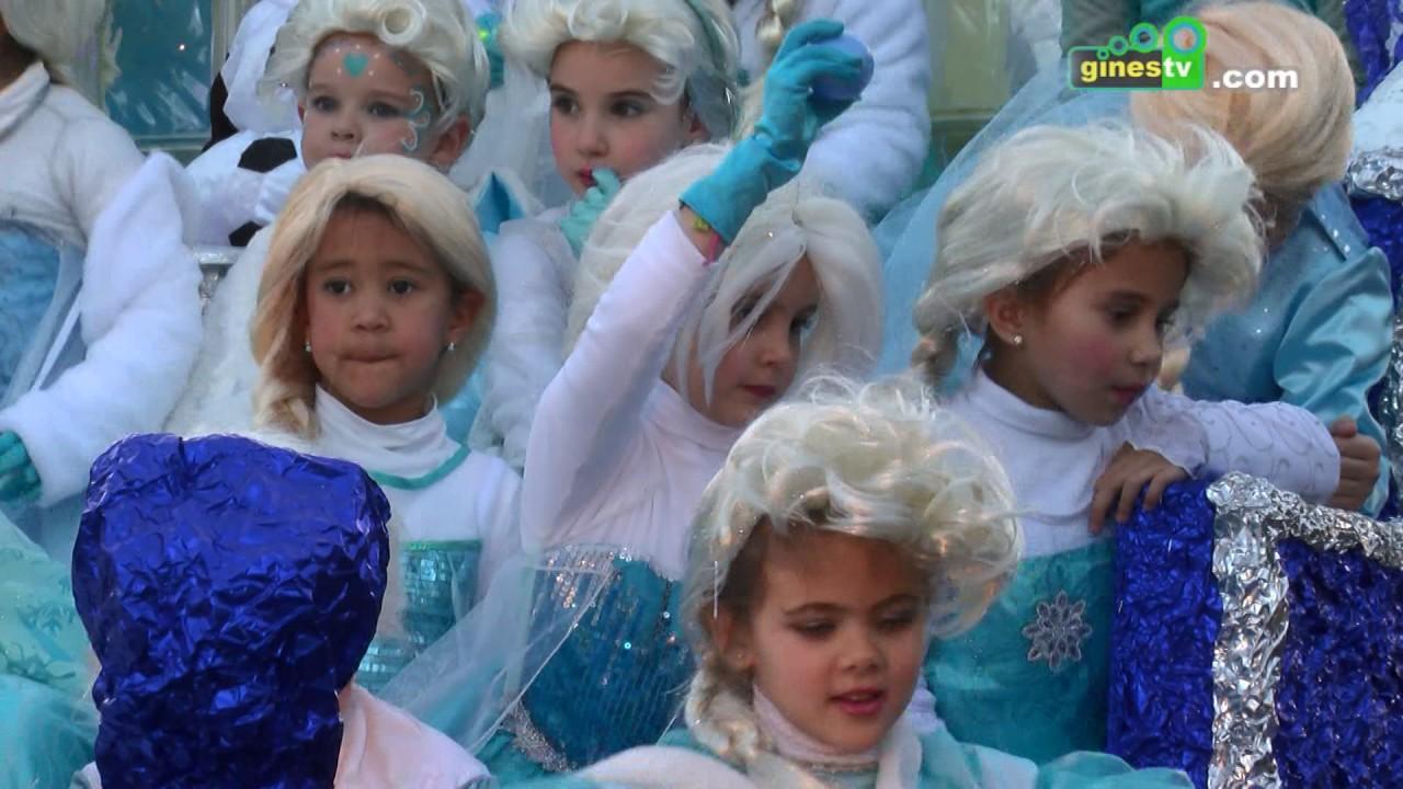 Cabalgata de Reyes Magos de Gines 2017