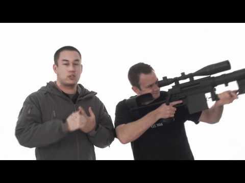 Airsoft GI - Beta Project Full Metal M200 Sniper Rifle Airsoft Gun