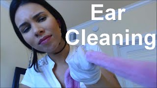 ASMR - Inappropriate things in your ears! (Latex gloves, Lot...