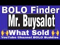 Featured Reseller and YouTuber Mr. Buysalot He is a Major BOLO Finder