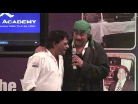 Shabbir kumar live with Jackie Shroff singing at Mohammed Rafi Academy Launch 31st july 2010
