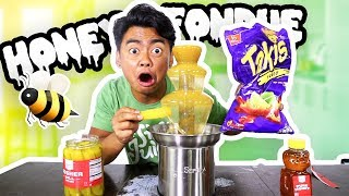 HONEY FONDUE CHALLENGE!