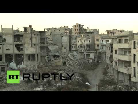 Homs lies in ruins after years of Syrian civil war