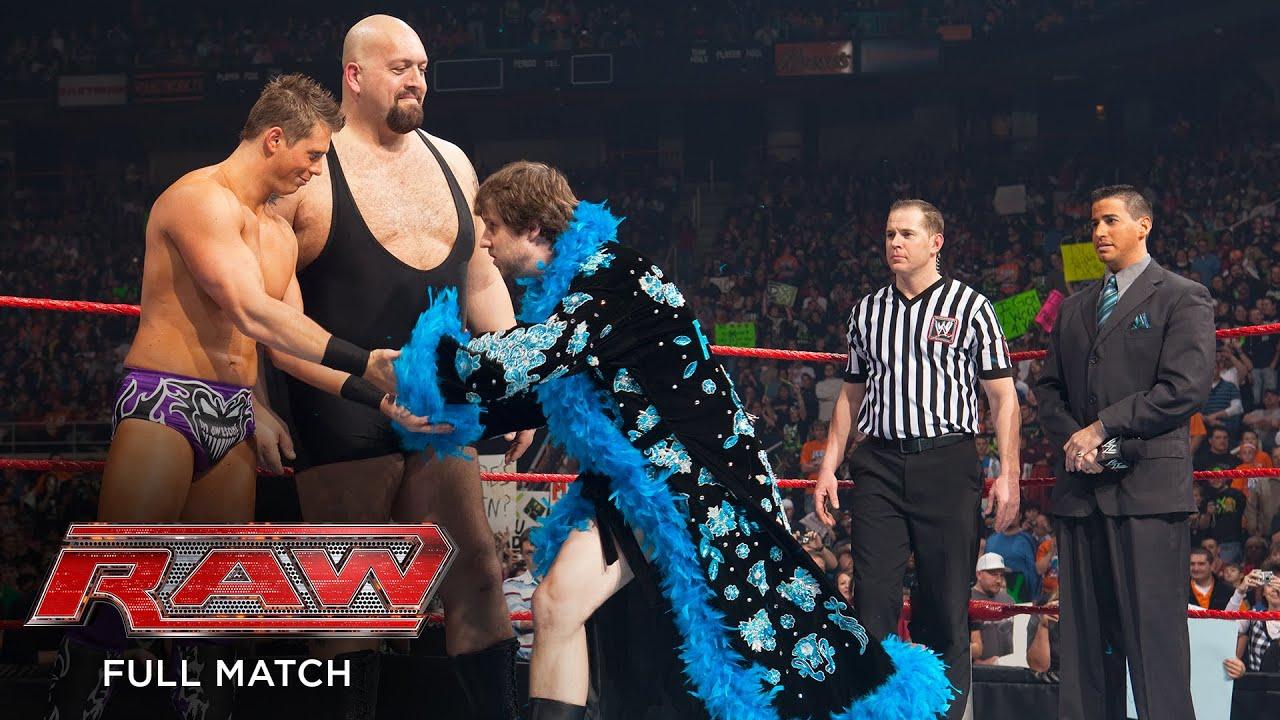 FULL MATCH - D-Generation X & Hornswoggle vs. Big Show, The Miz & Jon Heder: Raw, Jan. 18, 2010