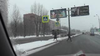 Автонакат - Круговой перекресток не так страшен ,как вы его малюете.