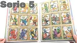 LEGO Ninjago Trading Card Game Serie 5 / Mappenupdate alle 252 Karten + 27 limitierte Karten