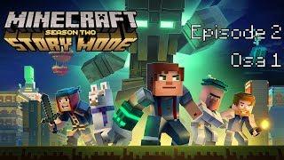 Minecraft Storymode Season 2 Episode 2 osa 1 Jättiläisen Kaato