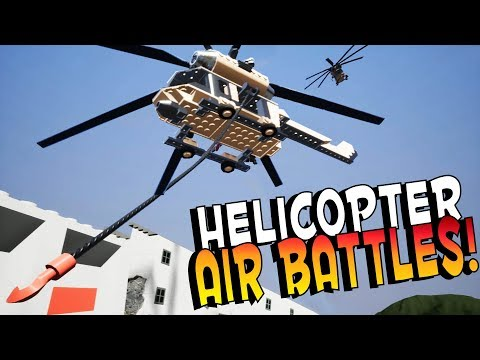 Brick Rigs Game | HELICOPTER AIR BATTLE CHALLENGE! | Brick Rigs Gameplay Multiplayer