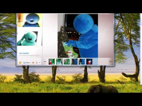 Share Pictures & Videos While Video Chatting — Windows Live Messenger