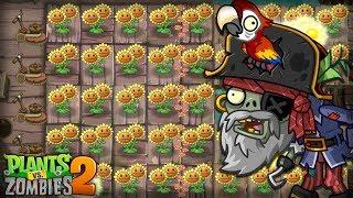 Plants vs. Zombies™ 2 - PopCap Pirate Seas Day 4 Walkthrough
