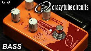 Crazy Tube Circuits - Planet B Bass Overdrive - BASS Demo