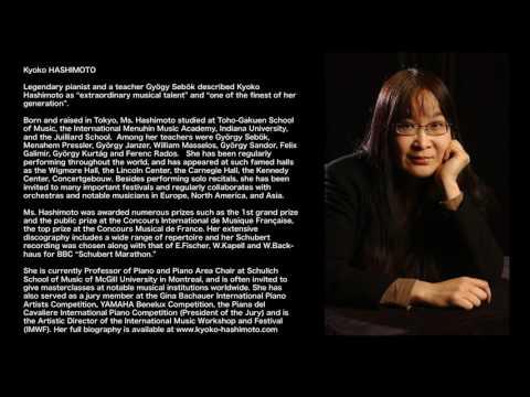 Kyoko Hashimoto Plays Johann Sebastian Bach: Partita In C Minor BWC826