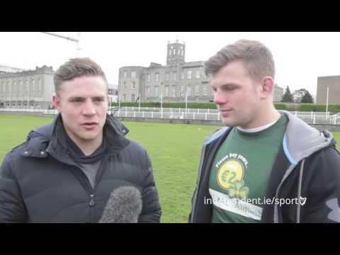 VIDEO: Ian Madigan and Jordi Murphy on England victory