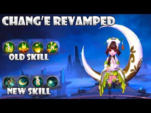 Chang'e Revamped/Rework | New Skill Revamped | Mobile Legends : Bang Bang thumbnail