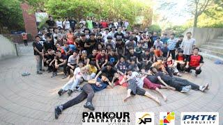 한국-일본 파쿠르 교류 워크샵   Korea-Japan parkour exchange workshop