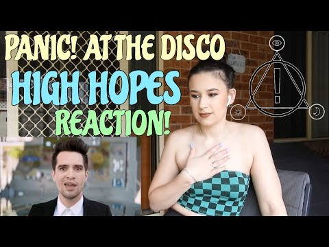 PANIC! AT THE DISCO HIGH HOPES REACTION! || KAYLA ROSE