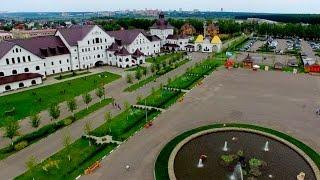 """Национальный конный парк """"Русь"""" вид с воздуха"""