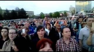 Концерт ансамбля имени Александрова закончился праздничным салютом