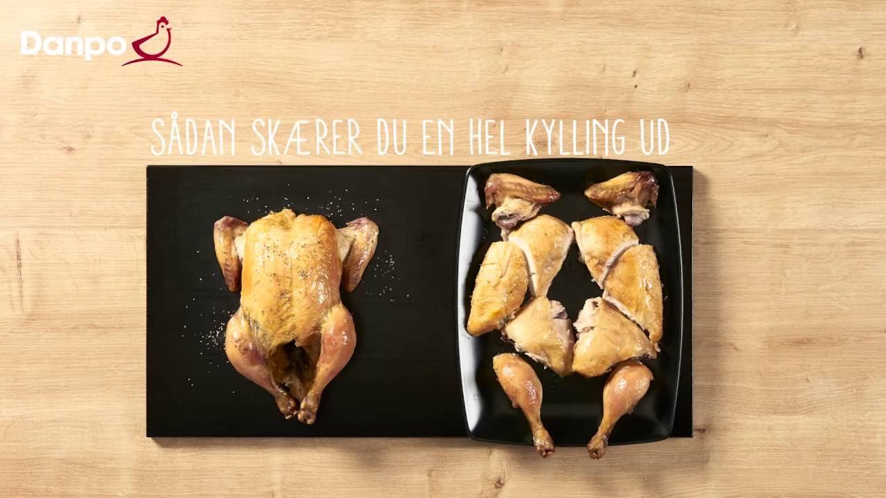 kylling udskæring