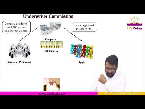 Underwriting Of Shares And Debenture Lecture 1