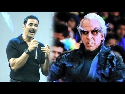 Akshay Kumar On Make Up For Robot 2 0 Movie With Rajinikanth Youtube