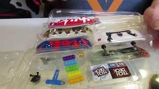 Newest Tech Deck Chocolate Sk8 Shop Bonus Pack Unboxing