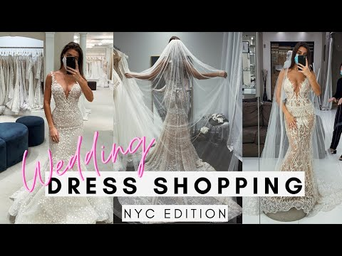 Come WEDDING DRESS shopping with me in 2020 | NYC EDITION: Kleinfeld's, L'fay and Wona