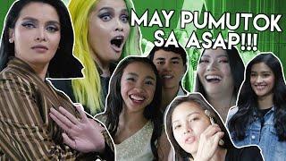 MAY PUMUTOK SA ASAP!!! - Behind the Scenes with KZ Tandingan